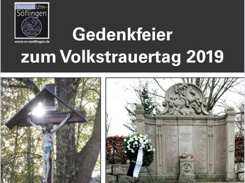 Gedenkfeier Volkstrauertag 2019