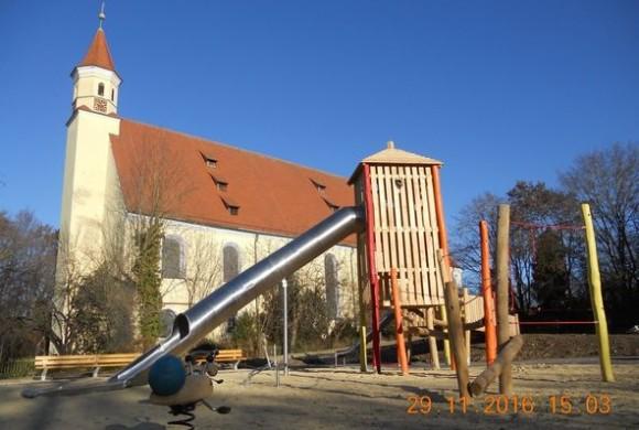 Neuer behindertengerechter Spielplatz in Söflingen